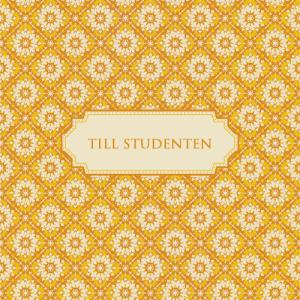 """Kort """"Till Studenten"""""""