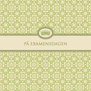 """Kort """"På Examensdagen"""""""
