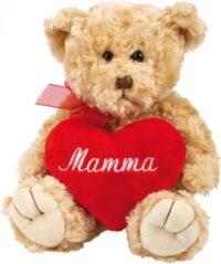 Nalle med Mamma-hjärta