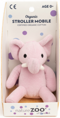 Ekologiskt Hänge Elefant (rosa) - NatureZoo
